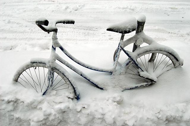 Jak na cyklistiku v zimních měsících